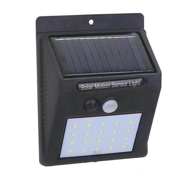 Bảng giá Bóng đèn LED năng lượng mặt trời 20 Led, Pin và đèn tách rời, cảm biến hồng ngoại 3 chế độ chiếu sáng -Đèn Năng Lượng Mặt Trời CẢM BIẾN Chuyển Động Cảm Biến Vườn Ngoài Trời Lampu