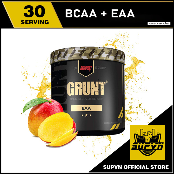 Grunt Eaa Redcon1 30 Lần dùng - Thực phẩm hỗ trợ phục hồi và giảm đau cơ phát triển cơ tối ưu cao cấp