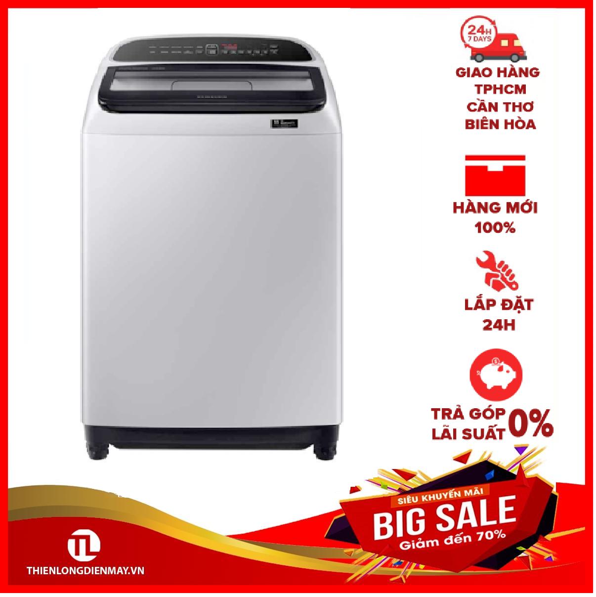 [Trả góp 0%]Máy giặt Samsung Inverter 10 kg WA10T5260BY/SV Mới 2020