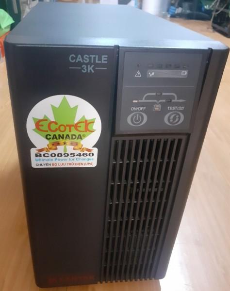 Bảng giá C3KE - Bộ lưu điện (UPS) SANTAK Online 3000VA / 2400W (bao gồm ắc quy - BH: 6 tháng) Phong Vũ