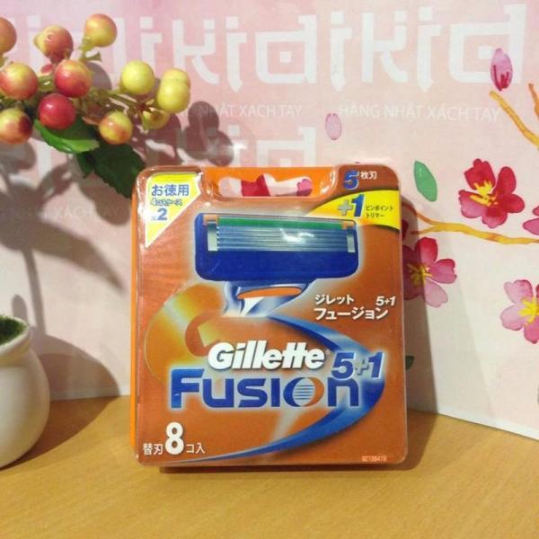 Lưỡi Dao Cạo Râu Vỉ 8 Gillette Nhật Bản giá rẻ