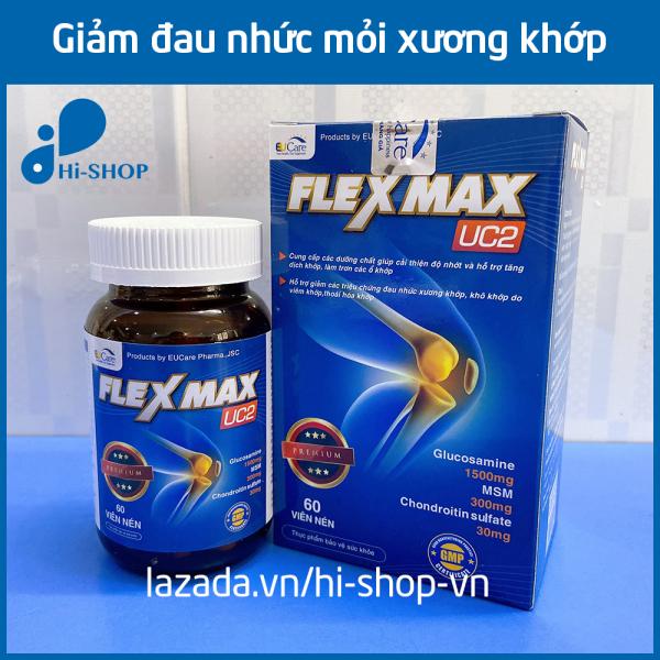 Hộp 60 Viên Xương Khớp Glucosamine 1500mg Flexmax giảm đau mỏi xương khớp