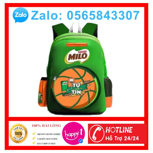 Giá bán Balo Milo vải cao cấp cho bé đi học - balo học sinh tiểu học