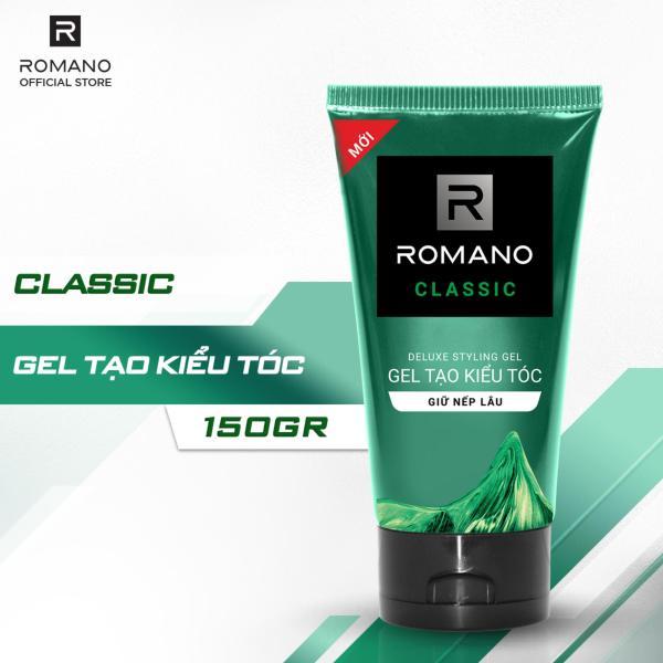 Gel vuốt tóc Romano Classic 150g