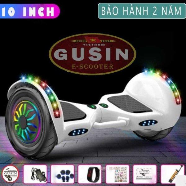 Giá bán [HCM]xe điện cân bằng 10inch Gusin / Có video test xe / cam kết bảo hành chính hãng 2 năm