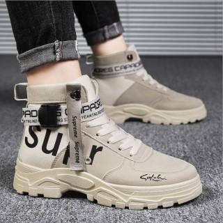 Giày Boot Nam Cao Cổ Chất Da Tăng 6CM Chiều Cao, Bốt Nam Đẹp Siêu Chất, Siêu Bề Đẹp SP - 369 thumbnail