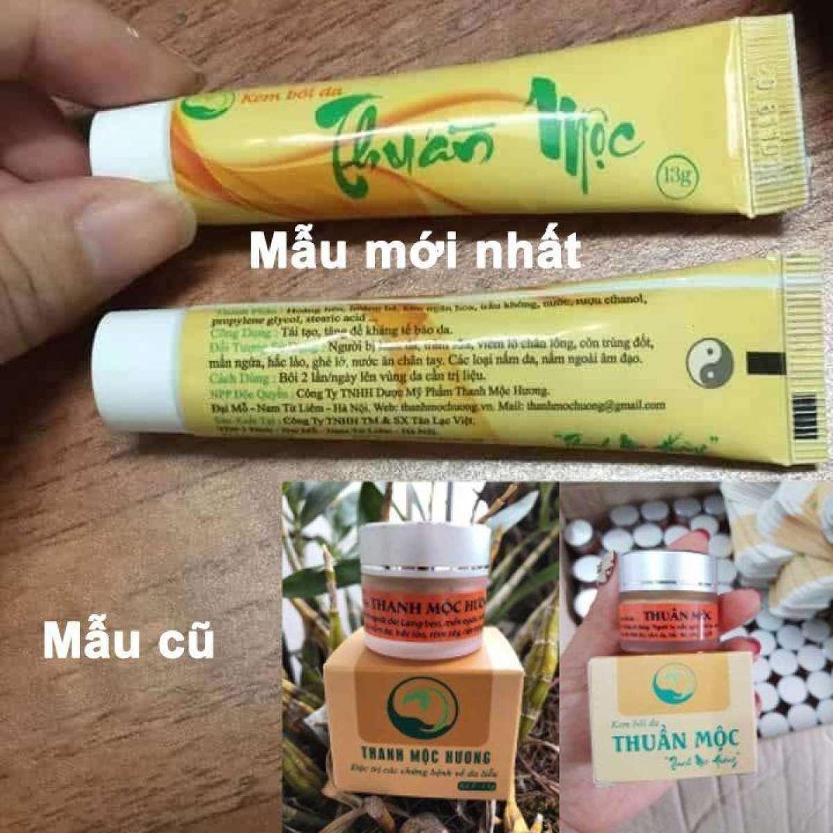 CÔM BO 2 HỘP Thanh Mộc Hương hỗ trợ điều trị bệnh da liễu, hắc lào, lang ben, nấm, nước ăn chân tay, chàm nhập khẩu