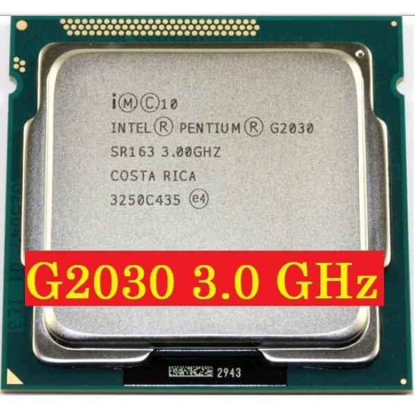 Bảng giá CPU G2010 - G2030 cho main h61 bóc main [giá rẻ] Phong Vũ