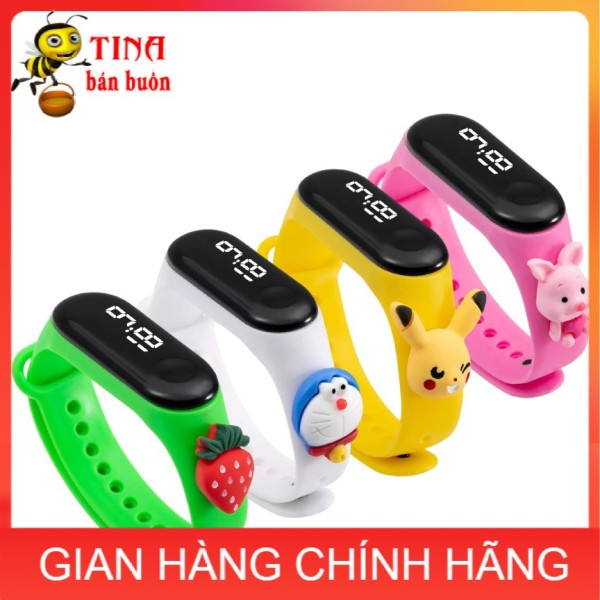 Nơi bán Đồng hồ trẻ em ZGO DISNEY Silicon nhiều màu, đồng hồ điện tử thông minh cho bé E132