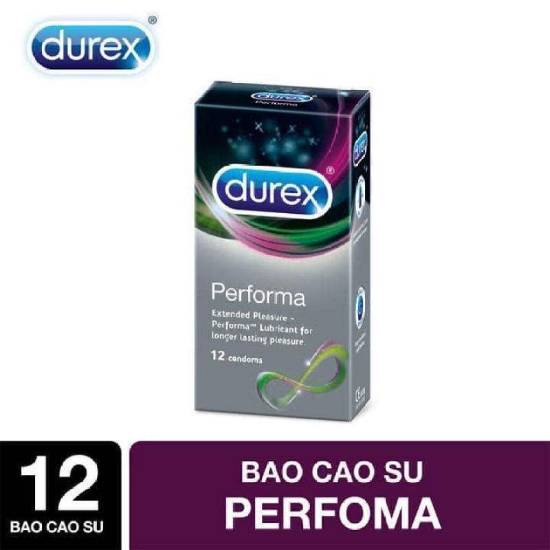 Bao cao su keo dai Durex Performa 12 bao cam ket chinh hang