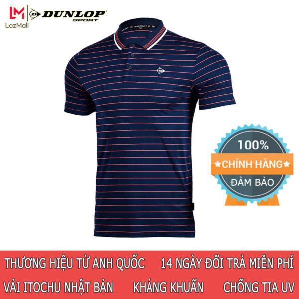 DUNLOP - Áo Tennis Nam Dunlop - DATES8098-1C Thương hiệu từ Anh Quốc Đổi trả miễn phí