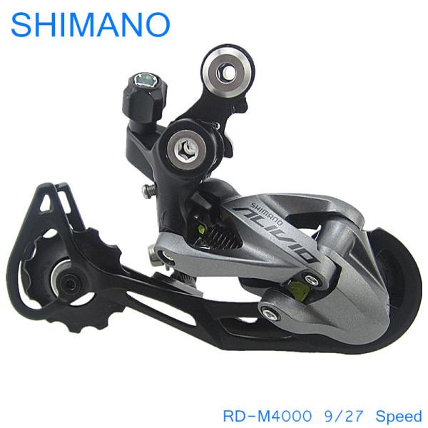 Mua Shimano RD-M4000 9/27 Speed Mountain Bike Road MTB Phía sau Derailleurs Phía sau Xe đạp Dịch chuyển Xe đạp Bộ phận Đi xe đạp