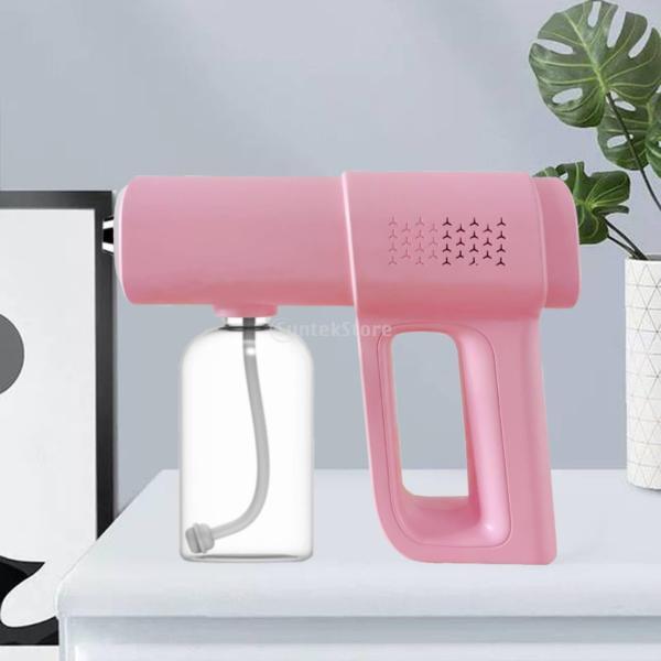 WDCOOL 380ml K5 lollipop Colour Handheld Wireless Nano Steam Spray Fogger Machine for Home Car Bedroom
