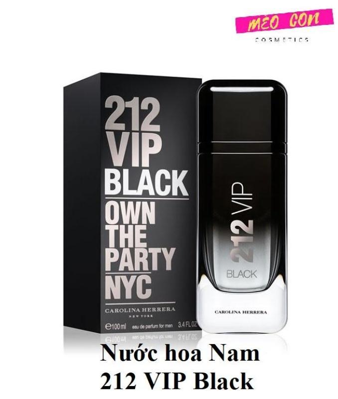 Nước hoa Nam 212 VIP Black hương thơm sang trọng đẳng cấp cao cấp