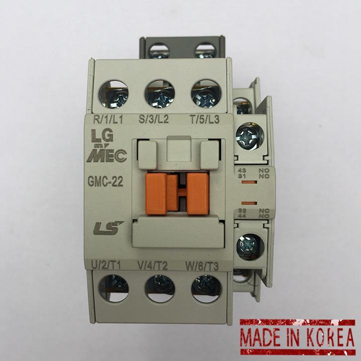 Bộ khởi động từ LS 1 pha Contactor GMC-22 220V 22A