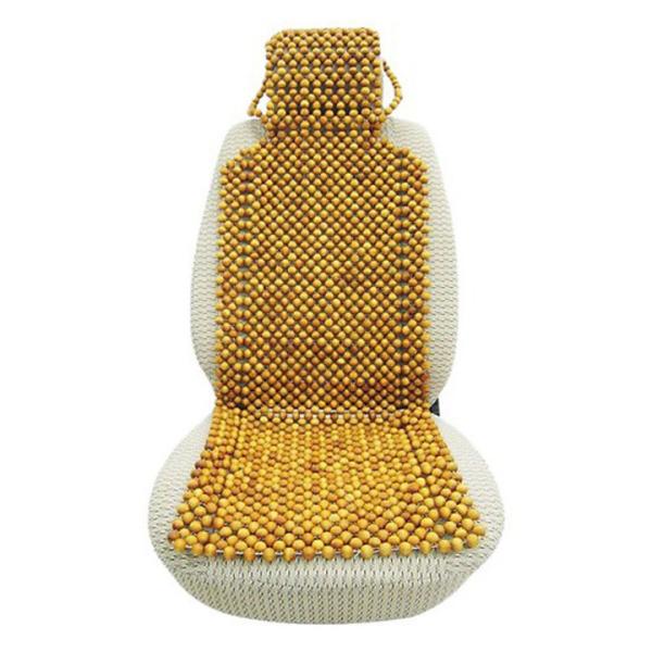 Lót ghế ô tô hạt gỗ thông - Đệm lót ghế ô tô đàn hạt 1,8cm