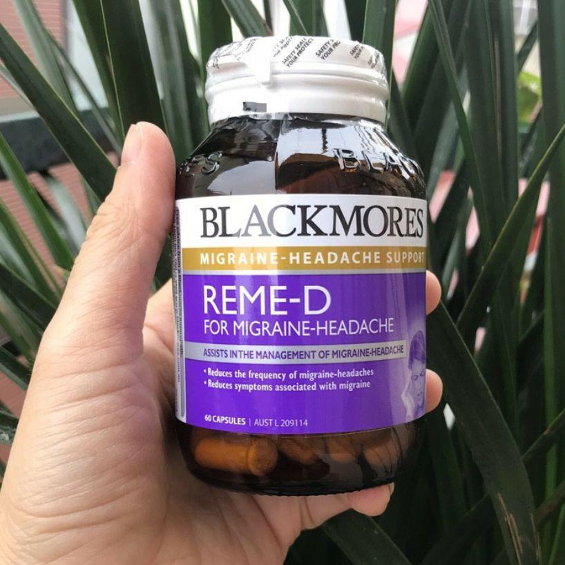 Blackmores Reme - D hỗ trợ giảm đau nửa đầu và rối loạn tiền đình