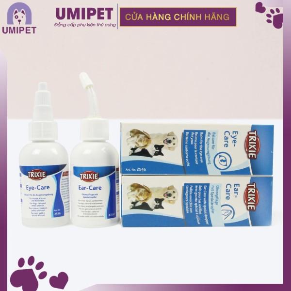 Combo chăm sóc tai, mắt cơ bản cho mèo Umipet