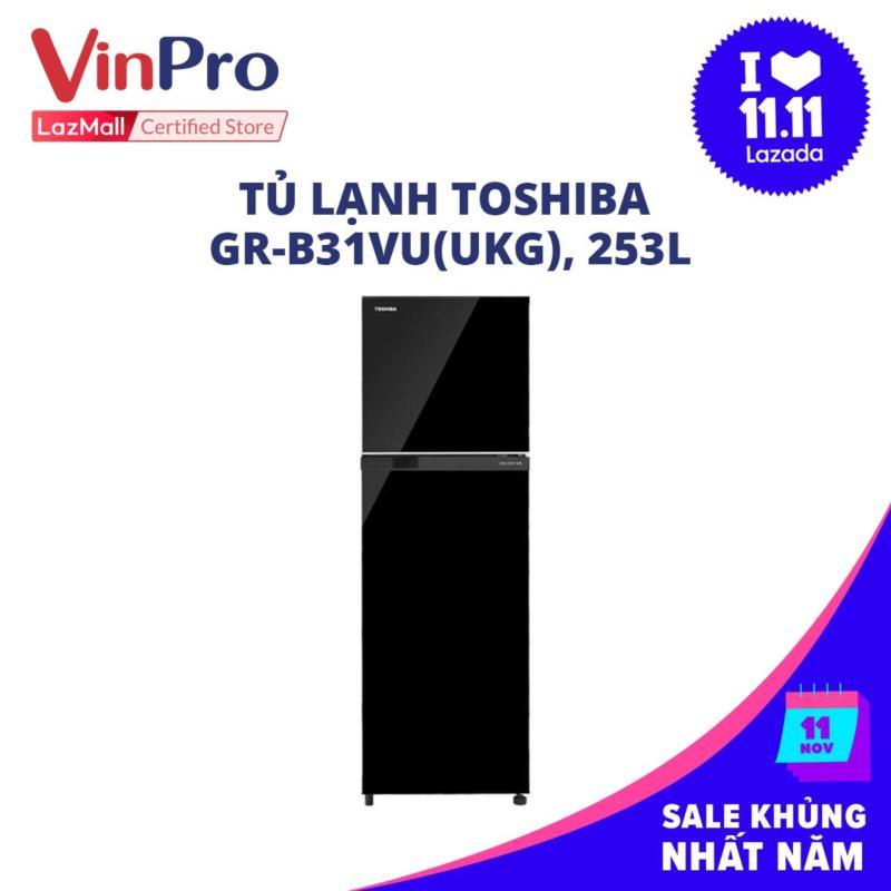 Tủ lạnh Toshiba GR-B31VU(UKG), 253L