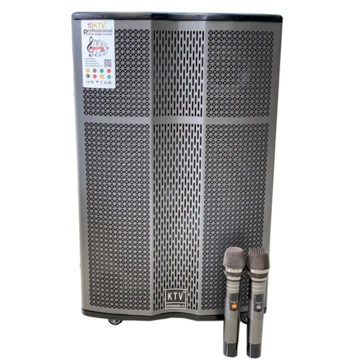Loa kẹo kéo karaoke bluetooth KTV 15-37 (Hàng chính hãng-Bảo hành 12 tháng)