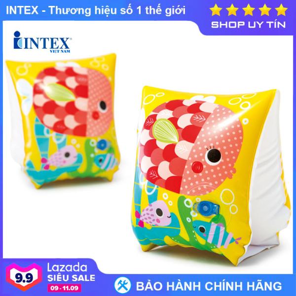 Phao tay cá INTEX 58652 - Phao bơi cho bé, Phao bơi trẻ em