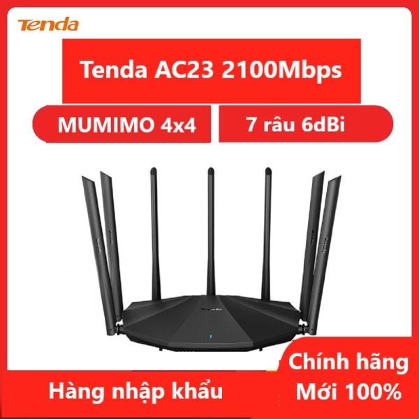 Bộ Phát Tenda Thiết bị phát Wifi AC23 Chuẩn AC 2100Mbps - Hàng chính hãng - Hàng nhập khẩu