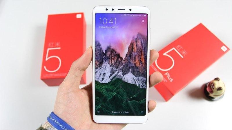 Điện Thoại Xiaomi Redmi 5 Plus 2sim ram  mới - Có Tiếng Việt Chơi FREE FIRE, PUBG, LIÊN QUÂN mượt/ Dung lượng pin:4000 mAh - Màn hình:IPS LCD, 5.99, Full HD+