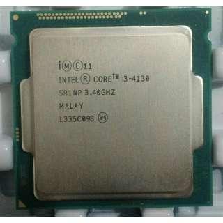 cpu i3 4130 socket 1150 3.4ghz sử dụng cho các loại main H81 hoặc B85 bảo hành 3 tháng lỗi 1 đổi 1