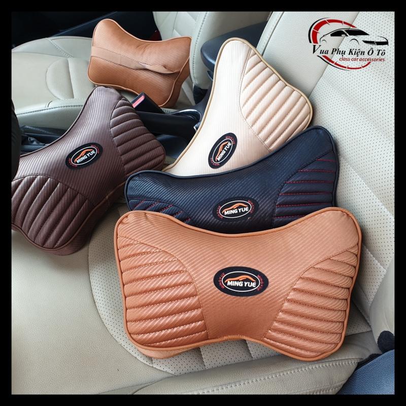 Gối tựa đầu trên xe ô tô, Phụ kiện trên xe o tô, gối tựa đầu giúp bạn thoải mái cổ vai gáy khi ngồi trên xe ô tô