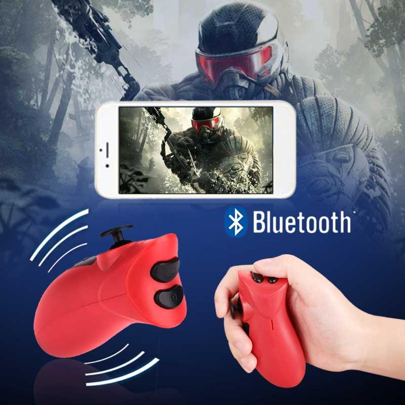 Tay cầm chơi game Bộ Điều Khiển Chơi Game Joystick Mini Di Động Bluetooth VR Trò chơi điện tử