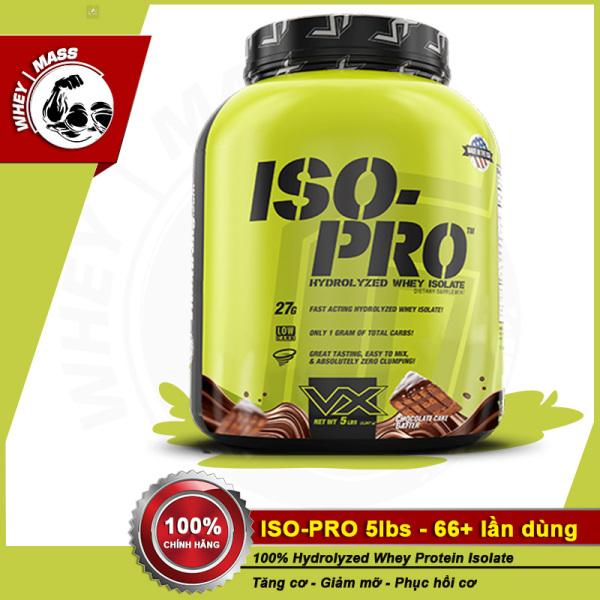 Sữa Tăng Cơ 100% Hydrolyzed Whey VITAXTRONG ISO PRO 5lbs (2.4kg) giá rẻ