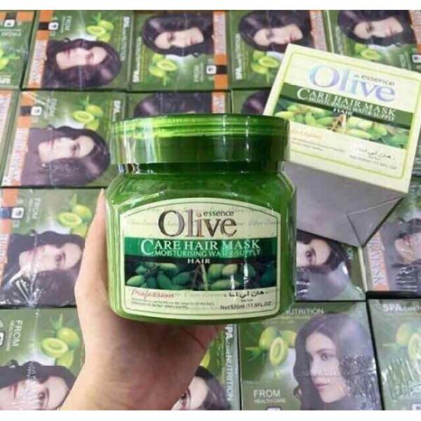 Sản phẩm hũ ủ tóc olive làm mượt tóc