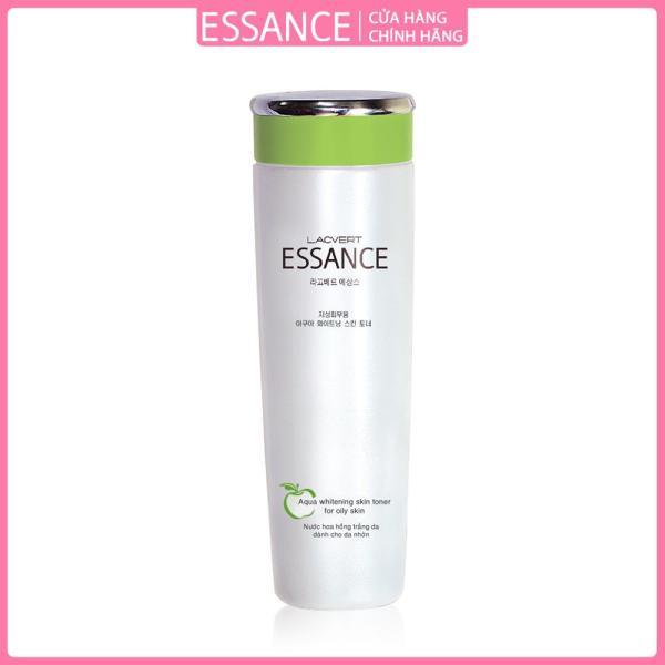 Nước hoa hồng dưỡng trắng dành cho da dầu Essance Aqua Whitening Skin Toner For Oily Skin 120ml