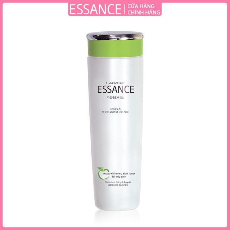 Nước hoa hồng dưỡng trắng dành cho da dầu Essance Aqua Whitening Skin Toner For Oily Skin 120ml cao cấp