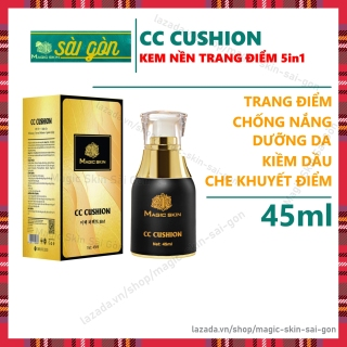 CC Cushion 5in1 thay thế KEM NỀN, KEM LÓT, KEM CHỐNG NẮNG, KEM DƯỠNG, KEM CHE KHUYẾT ĐIỂM Magic Skin 45ml thumbnail