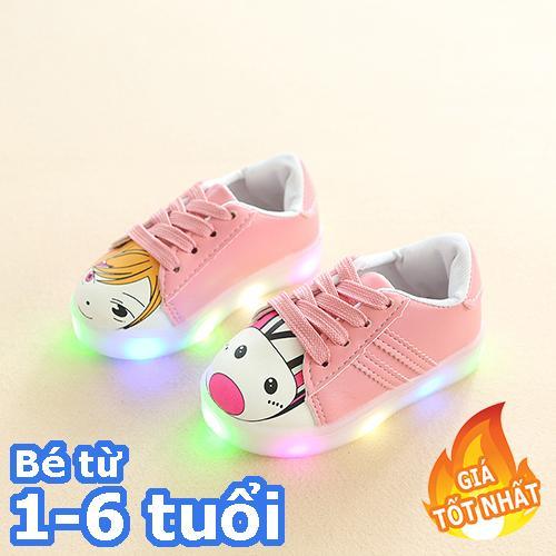 [SIÊU RẺ] Sneaker có đèn led cho bé gái-Giày bé gái - giay be gai - giày cho bé gái - giay cho be gai - giày trẻ em - giay the thao cho be gai - giày thể thao cho bé gái - giay dep tre em - giày phát sáng trẻ em
