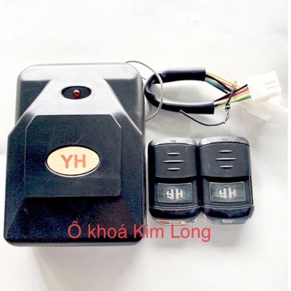 [HCM]Hộp điều khiển cửa cuốn có 8 mã gạt tần số 433 YH