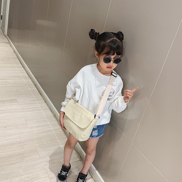 Giá bán Minibag Simple - Túi vải đeo chéo cho bé gái siêu kute, túi đi chơi, đi du lịch xinh cho bé gái