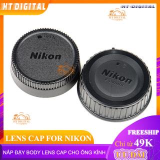 Nắp Lens Cap Đậy Body Cho Nikon DSLR và Cáp Đuôi Lens Ống Kính Cho Nikon thumbnail