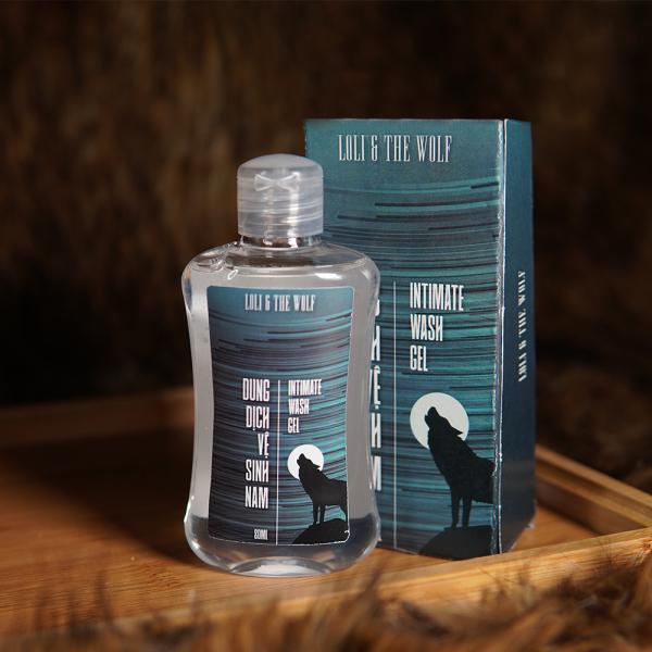 Dung dịch vệ sinh nam dạng gel chai 80ml - LOLI & THE WOLF tốt nhất