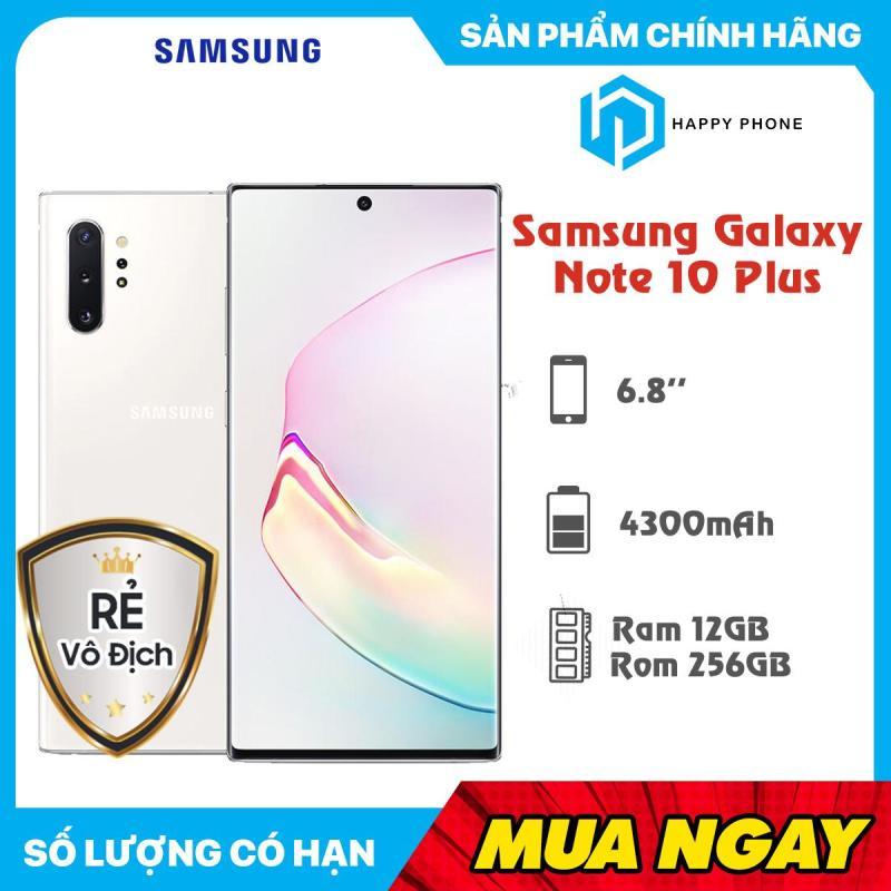 Điện thoại Samsung Galaxy Note 10+ RAM 12GB ROM 256GB  - Hàng mới 100%, Nguyên seal, Bảo hành 12 tháng