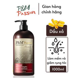 [Freeship toàn cầu] Dầu xả Dưỡng tóc bóng mượt P&M Passion Tặng kèm lược gội đầu silicon thumbnail