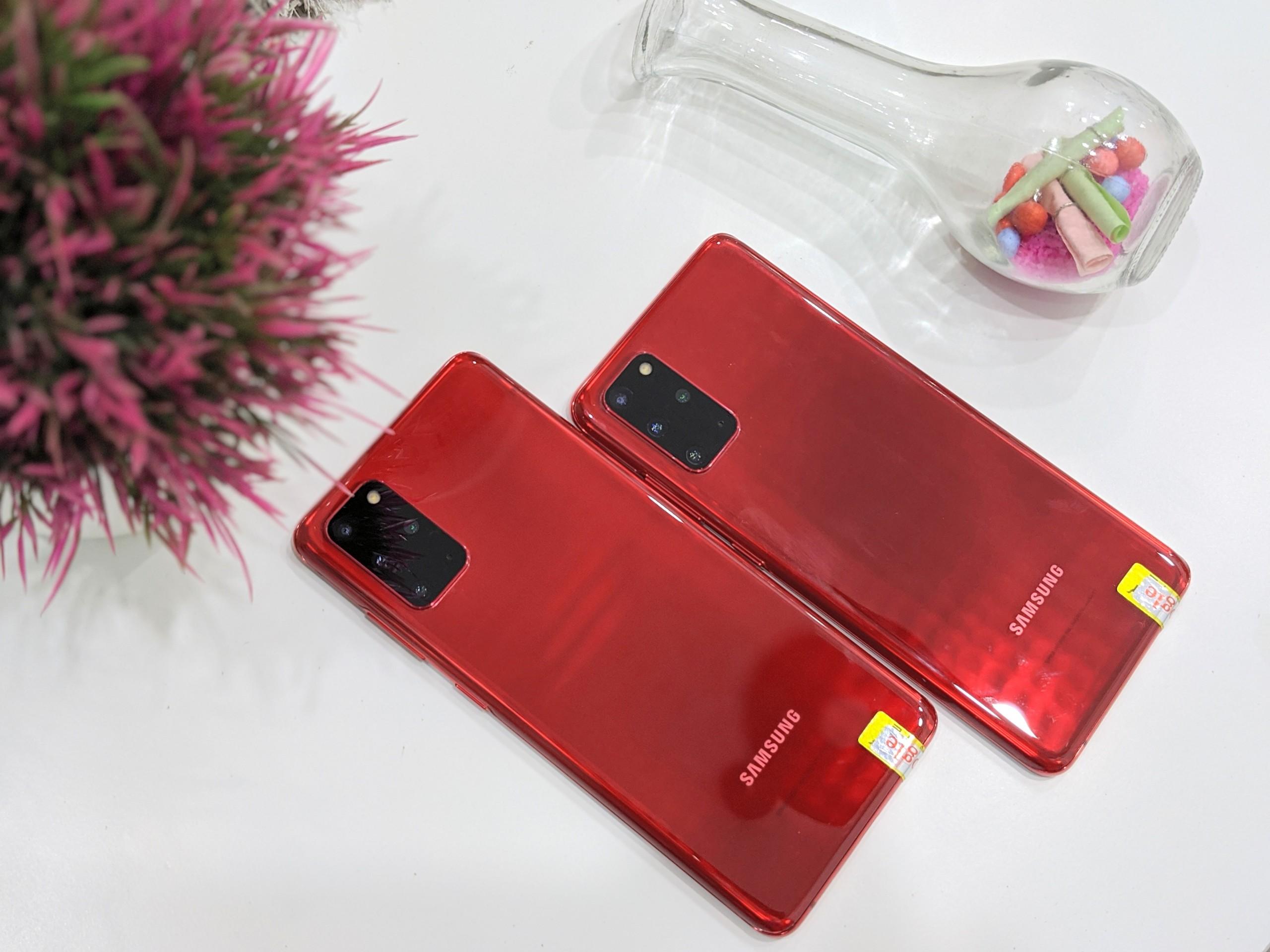 Điện Thoại Samsung Galaxy S20 Plus 5G Hàn Đỏ cực...
