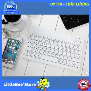 Bàn Phím Bluetooth Mini Cho Smartphone , Bàn Phím Bluetooth Nhỏ Gọn , Bàn Phím Cho Android - Hàng cao cấp, giá cực sốc thumbnail