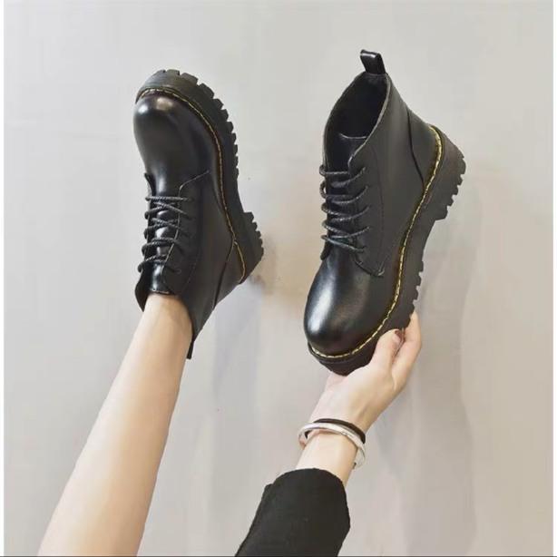 Giày ulzzang,Bốt nữ,Boots basic 4p hàng cao cấp bán chạy nhất hiện nay giá rẻ