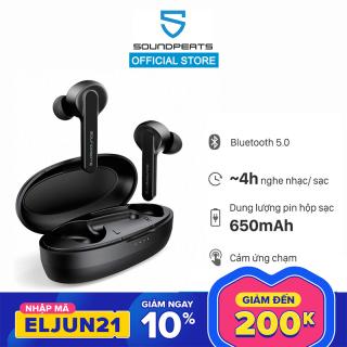 Tai nghe bluetooth không dây Earbuds Soundpeats TrueCapsule, bluetooth 5.0, thời gian nghe nhạc 4h - True Wireless thumbnail