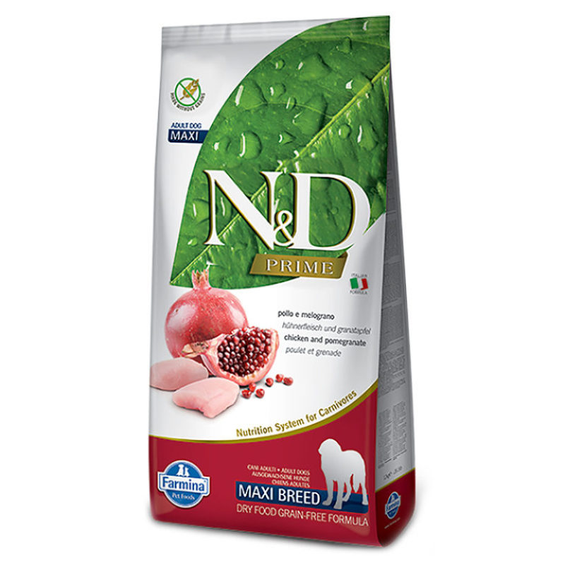 N&D Prime Dog Chicken Pomegranate Adult Medium & Maxi