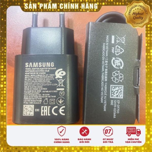 Cốc Sạc Nhanh Samsung S20/S20+/S20 Ultra/S10 5G/Note10/Note20/Note20 Ultra/ 25W TA800 Chuẩn PD .Z.i.n. Chính Hãng