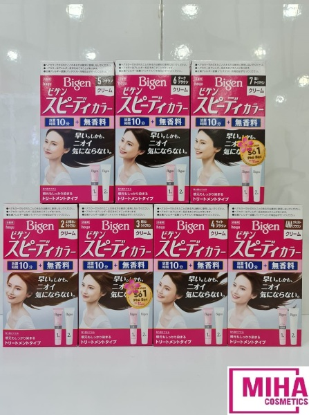 [HCM]Thuốc Nhuộm Tóc Phủ Bạc BIGEN Nhật Bản Chính Hãng Công Ty giá rẻ