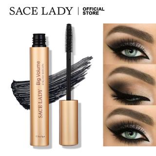 Mascara SACE LADY màu đen không thấm nước giúp mi dày và cong hơn - INTL thumbnail